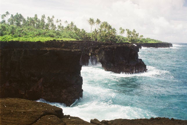 scogliera Samoa